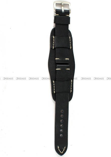 Pasek skórzany z podkładką do zegarka - Tekla PT63.22.1.7