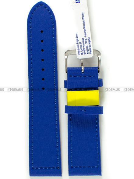 Pasek wodoodporny Lycra do zegarka - Morellato A01X5271C90164CR22 - 22 mm