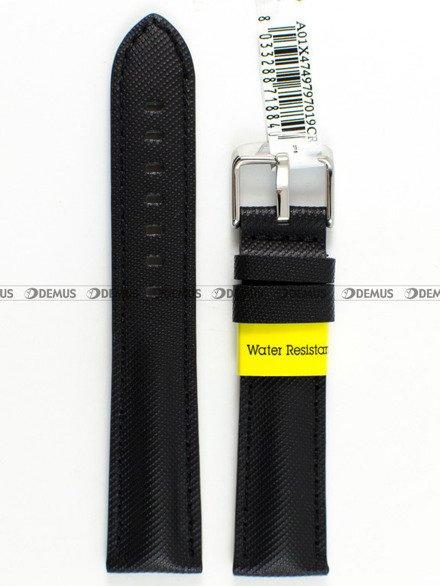 Pasek wodoodporny skórzany do zegarka - Morellato A01X4749797019 - 18 mm