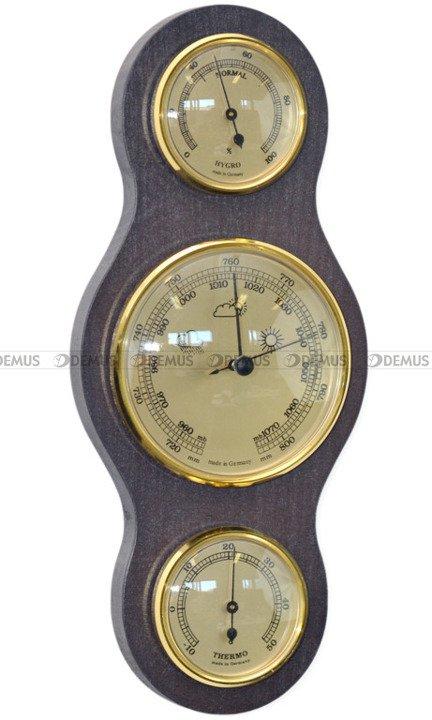 Stacja Pogody Barometr Termometr Higrometr - Demus SP-3W-G-Wenge