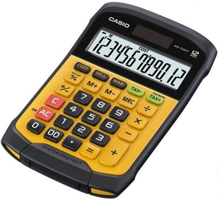 Wodoodporny kalkulator Casio WM-320MT