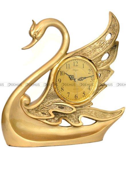 Zegar kominkowy figurka łabędź Hagen TK5646 39x40 cm
