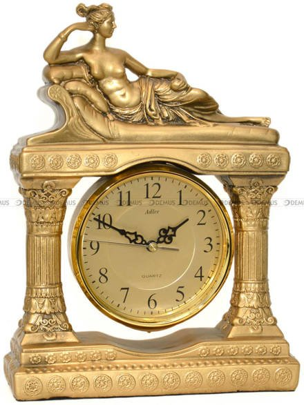 Zegar kominkowy kwarcowy figurka Adler 80055G