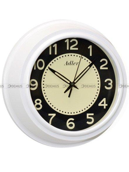 Zegar ścienny Adler 30143-White