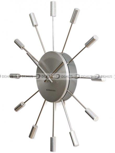 Zegar ścienny ExitoDesign Spike HS-2219CLR
