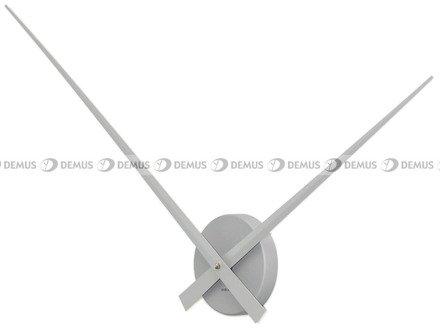 Zegar ścienny KARLSSON KA450055 aluminiowy Little Big Time srebrny