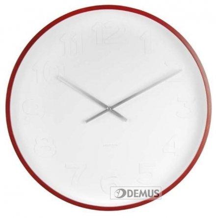 Zegar ścienny Karlsson Mr. White Numbers XL KA5470
