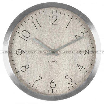 Zegar ścienny Karlsson Wood Charm White Wash Wood KA5609WH