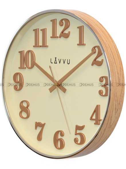 Zegar ścienny LAVVU HOME White LCT1160