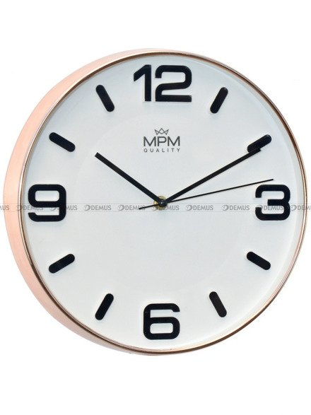 Zegar ścienny MPM Rose Modern I E01.3901.8200