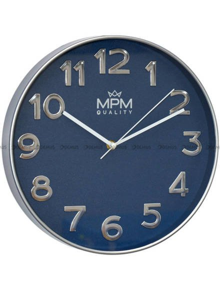 Zegar ścienny MPM Silver Line E01.3905.3232 30 cm