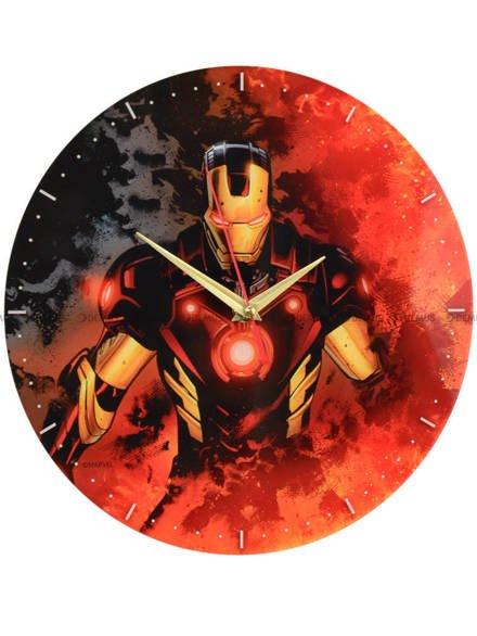 Zegar ścienny Marvel Iron Man MWCIMAN022 29cm