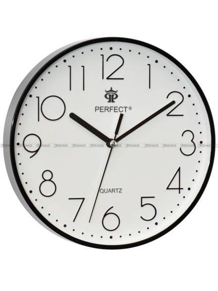 Zegar ścienny Perfect FX-5814 Czarny - 23 cm