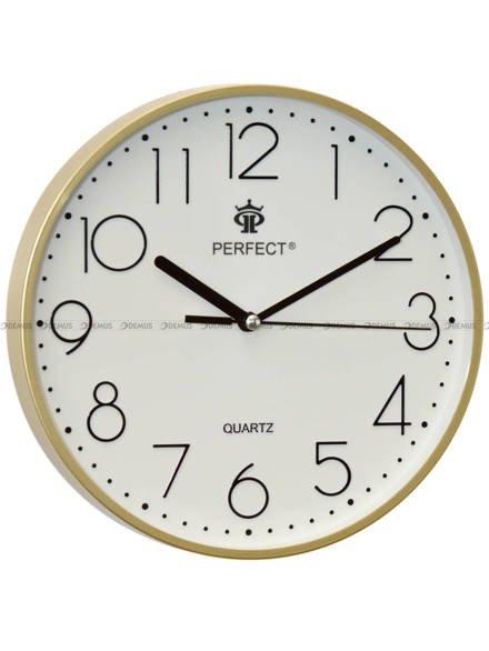 Zegar ścienny Perfect FX-5814 Złoty - 23 cm