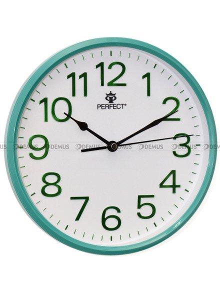 Zegar ścienny Perfect GWL683-P-GN