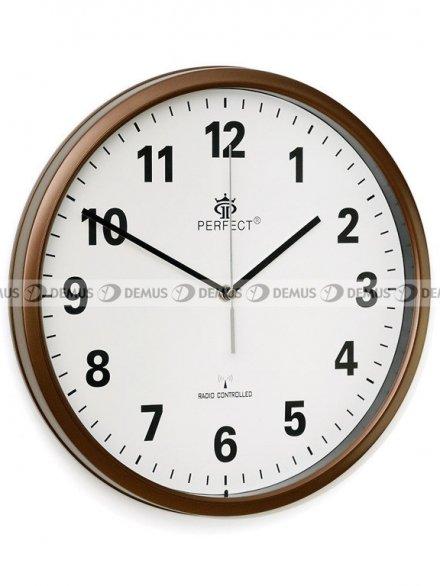 Zegar ścienny Perfect HT954D3-PL-BR
