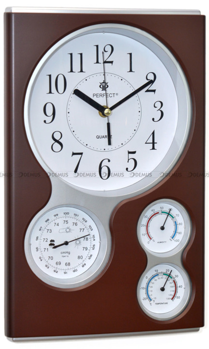 Zegar ścienny QG17-DARK BROWN
