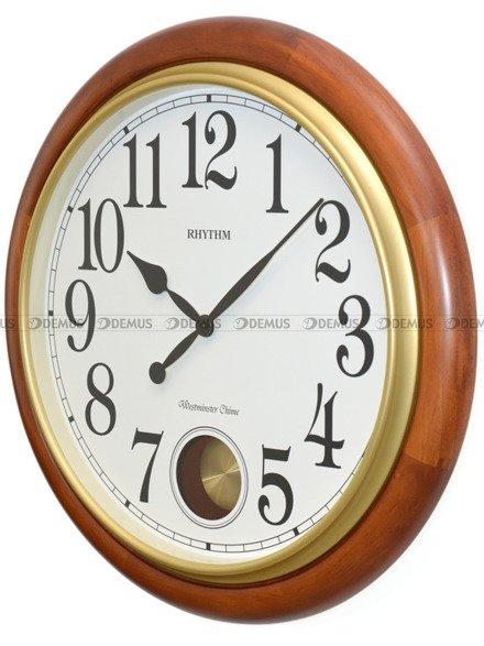 Zegar ścienny Rhythm CMJ579NR06 Brown