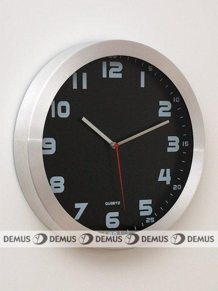 Zegar ścienny aluminiowy E01.2482.7090