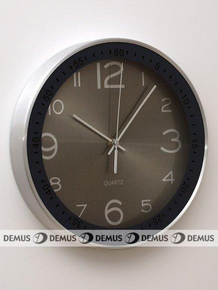 Zegar ścienny aluminiowy RV2212SGY