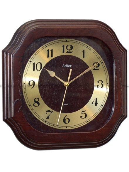 Zegar ścienny drewniany Adler 21149-WA
