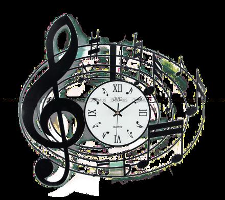 Zegar ścienny z elementami dekoracyjnymi HJ03