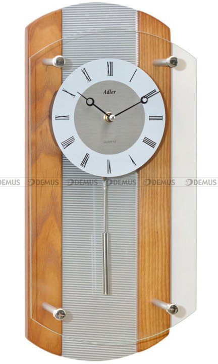 Zegar wiszący Adler 20172-OAK