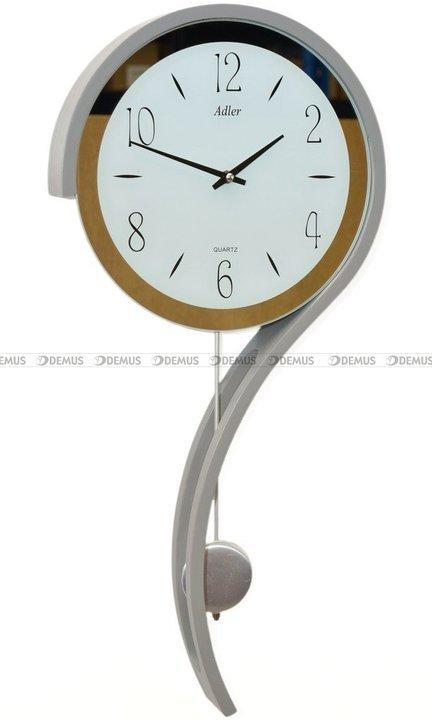 Zegar wiszący kwarcowy Adler 20216-GREY