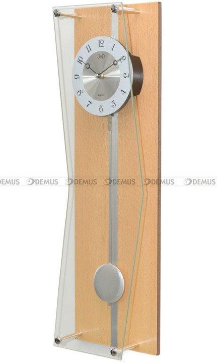 Zegar wiszący kwarcowy z wahadłem N12002.68