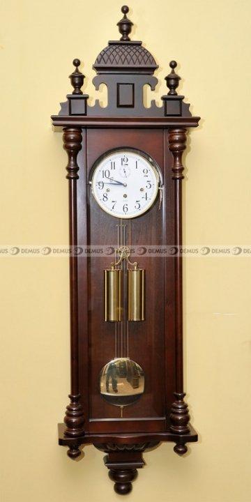 Zegar wiszący mechaniczny BŁAŻEJ2-WHITE-W