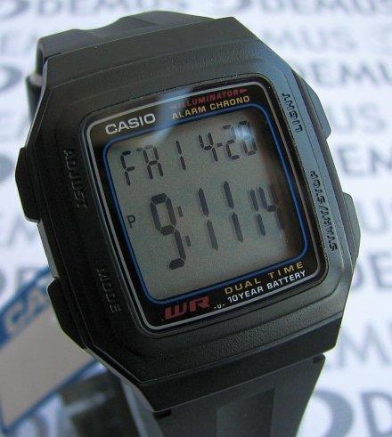 Zegarek Casio F 201W 1AEF