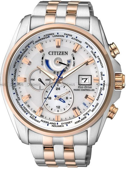 Zegarek Citizen Eco-Drive Radio Controlled AT9034-54A
