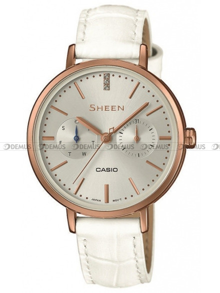 Zegarek Damski Casio Sheen SHE 3054PGL 7AUER