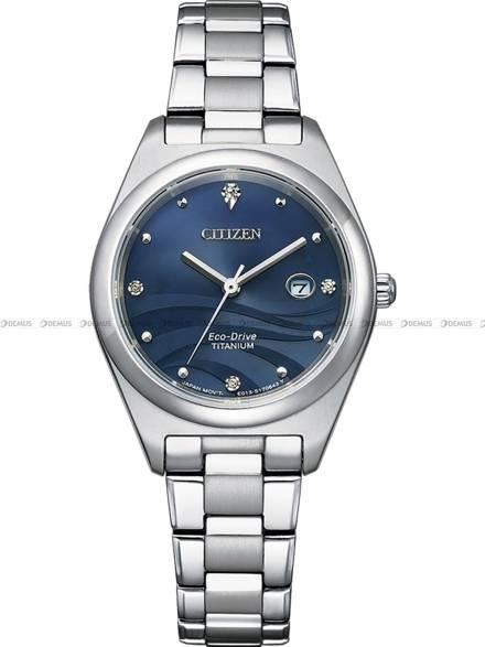 Zegarek Damski Citizen Eco-Drive Titanium EW2600-83L