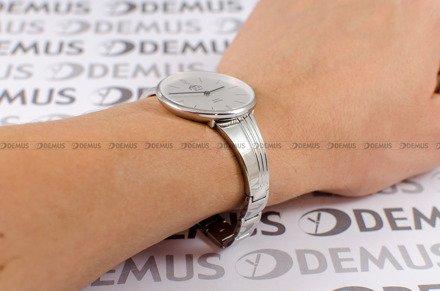 Zegarek Damski FujiTime M7107QS-Silver-Black