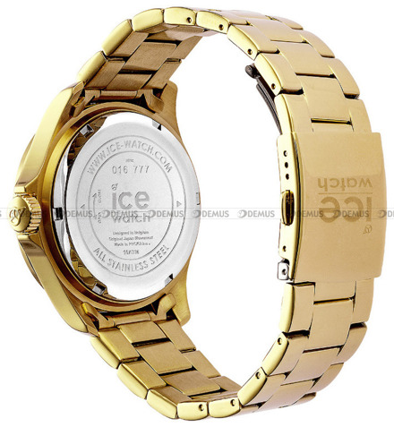Zegarek Damski Ice-Watch - ICE steel - Gold shiny 016777 M