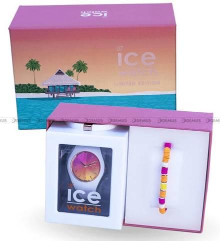 Zegarek Damski Ice-Watch - Ice Sunset California 018494 M - bransoletka w zestawie - Limitowana edycja