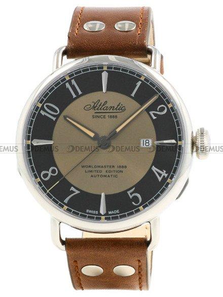 Zegarek Męski Atlantic Worldmaster 130th Anniversary 57750.41.65B - Limitowana edycja