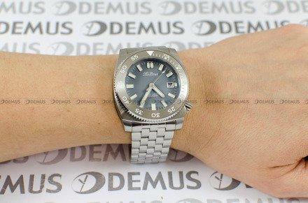 Zegarek Męski Balticus Deep Water Szary - W zestawie dodatkowe paski