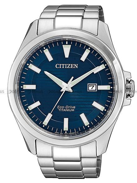 Zegarek Męski Citizen Eco-Drive Titanium BM7470-84L