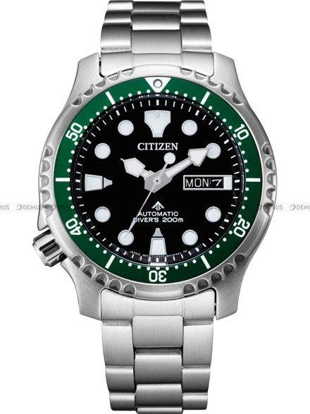 Zegarek Męski Citizen Promaster Diver Automatic NY0084-89EE
