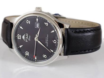 Zegarek Męski FujiTime M367QS-Black z datownikiem