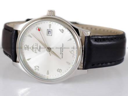 Zegarek Męski FujiTime M367QS-Silver z datownikiem