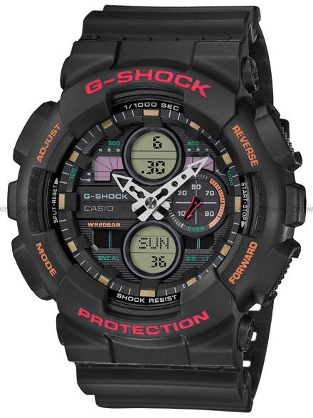 Zegarek Męski G-SHOCK GA 140 1A4ER