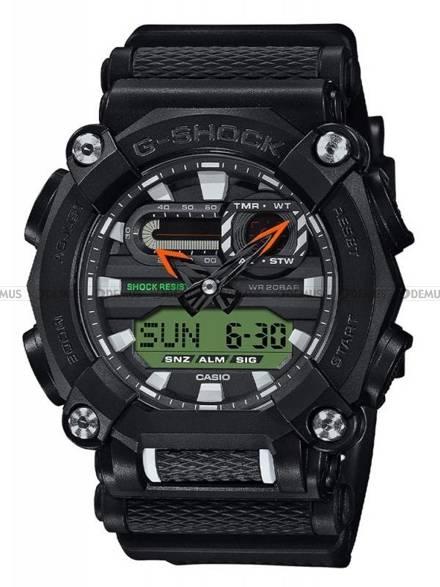 Zegarek Męski G-SHOCK GA 900E 1A3ER - Dodatkowy pasek w zestawie