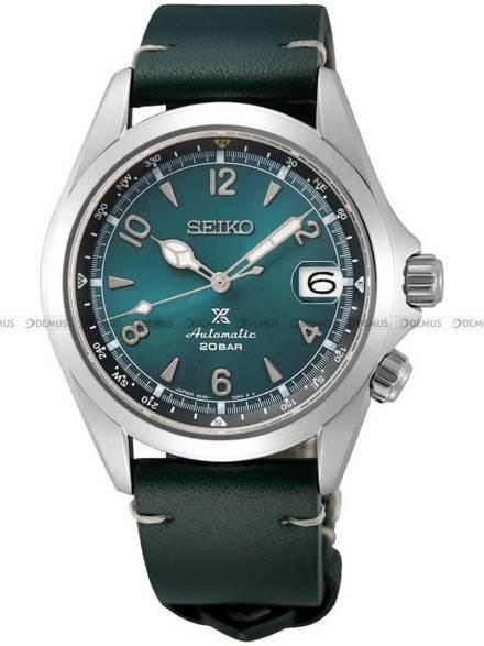 Zegarek Męski Seiko Prospex Automatic Alpinist Mountain Glacier SPB199J1 - Limitowana edycja - dodatkowy pasek w zestawie