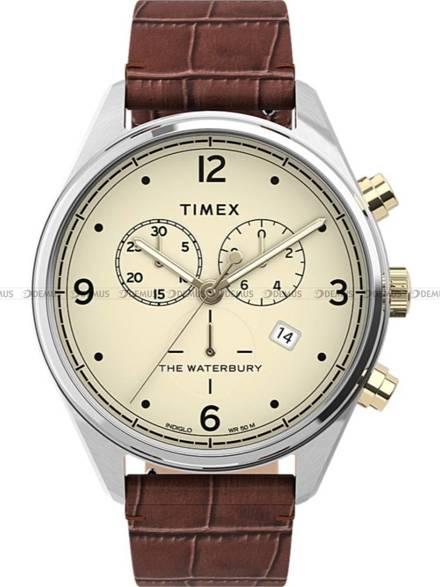 Zegarek Męski Timex Waterbury Traditional Chronograph TW2U04500