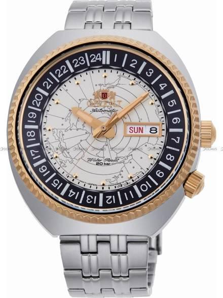 Zegarek Męski automatyczny Orient World Map Revival RA-AA0E01S19B