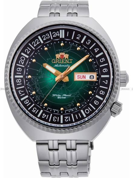 Zegarek Męski automatyczny Orient World Map Revival RA-AA0E02E19B