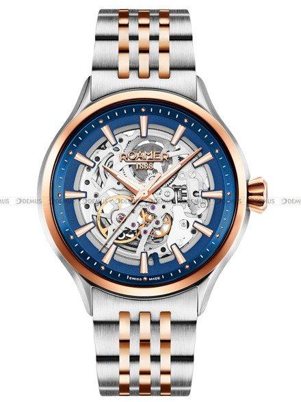 Zegarek Męski automatyczny Roamer Competence Skeleton III 101663 47 45 10N